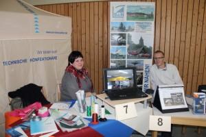 Zur Ausbildungsmesse gemeinsam mit NOVUM Membranes GmbH